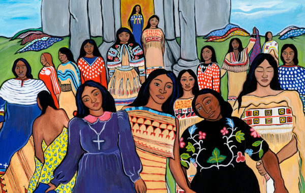 Sherry Farrell Racette - Ancestral Women Taking Back Their Dresses