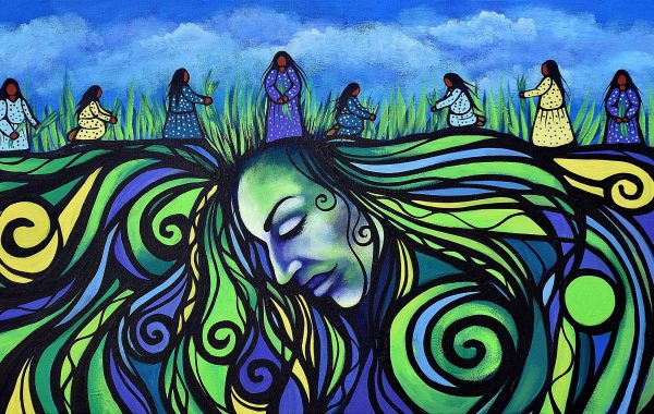 Jackie Traverse - Harvesting the Hair of Mother Earth